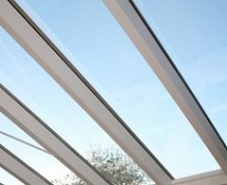 solar control 20 window film on conservatory roof