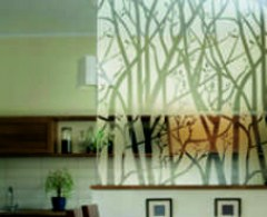 frosted etched window film