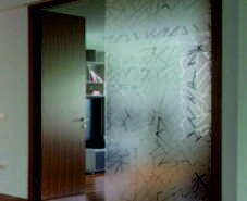 jaggered ice etched window film