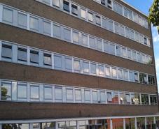 redeuce heat and glare on the school windows